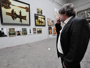 Фотоагентство Балтфото Россия Санкт Петербург Открытие выставки дипломных работ в Институте им И